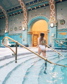 haysla Instagram - Gellert Thermal Baths and Swimming Pool in Budapest Budapest Spa, Visit Budapest, Budapest Travel, Budapest Hungary, The Places Youll Go, Places To See, Thermal Baths, Thermal Spas, Europe Destinations