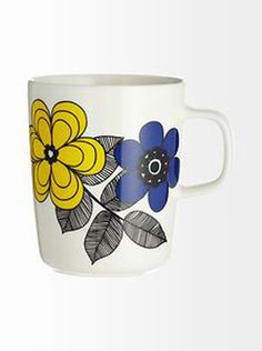 Home: Eleven Tea-Worthy eBay Mugs (Marimekko Oiva Kestit Mug by Maija Louekari | eBay)