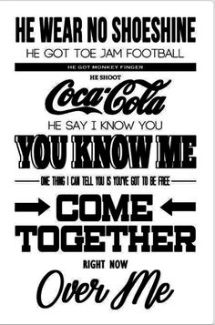 Come Together - Beatles