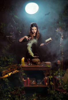 The Wiccan/Pagan Times Beltane, Fantasy World, Fantasy Art, Images Esthétiques, Witch Craft, Season Of The Witch, Fantasy Photography, Halloween Photography, Witch Aesthetic