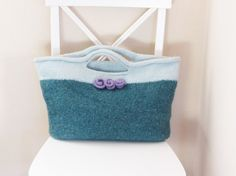 Felted Purse Pattern Knit Bag Pattern Knitted Purse