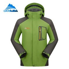 WOLFONROAD Men Women Hiking Jacket Coat Outdoor Sport Waterproof ...