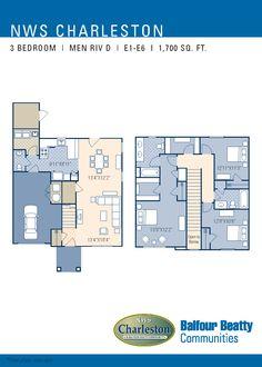 34 best jb charleston sc images on pinterest military military jb charleston men riv d neighborhood floorplan 3 bedroom malvernweather Images
