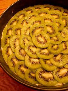 Kiwi Tea Cake, made with kiwis grown in California #CAGrown