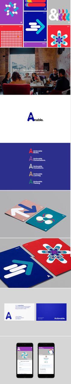 Actionable brand idenity | design by Underline Studio