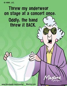 Put on your big girl panties! And laugh.