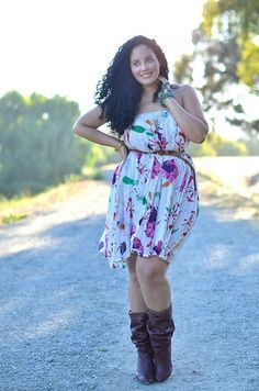 Curvy Girl Fashion: 40 Plus Size Outfits Curvy Girl Fashion, Love Fashion, Plus Size Fashion, Womens Fashion, Fashion Ideas, Looks Plus Size, Look Plus, Plus Size Dresses, Plus Size Outfits