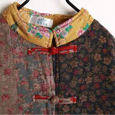 Coat - Women Winter Retro Style Cardigan Cotton Linen Overcoat