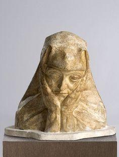 George Minne - Biddende non by Gemeentemuseum Den Haag, via Flickr