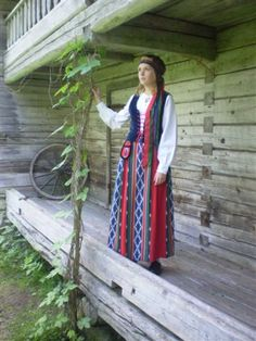 Jurva folk dress, Finland