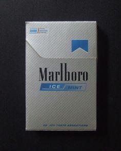 Embalagem de Marlboro Ice Mint