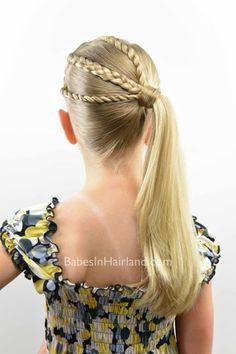 The Braid Twist Ponytail Combo from BabesInHairland.com #ponytail #braid #twist #hair