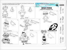 Rocket Power (Cálculo de áreas de triángulos de Educación Primaria)