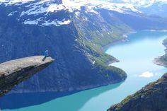 trolltunga 3 Hovering 700 metres above lake Ringedalsvatnet in Trolltunga