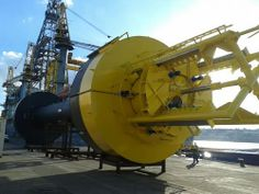 Wedge project Power Buoy - Wave energy device with linear generator