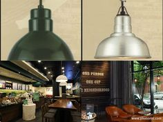 Starbucks: dining pendant lights and other lighting fixtures