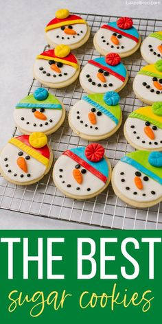 7 reviews · 23 minutes · Vegetarian · Serves 6 · This easy-to-follow recipe makes six dozen of the best sugar cookies ever! These are quick to roll out, and great for decorating year round! #sugarcookies #christmascookies #easysugarcookies… More Fruit Cookies, Easy Sugar Cookies, Roll Cookies, Homemade Cookies, Sugar Cookies Recipe, Cookie Recipes, Dessert Recipes, Kids Cooking Recipes, Easy Recipes
