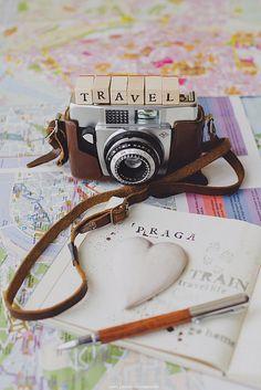 Una de mis aficiones es viajar aunque no lo hago tanto como quisiera.