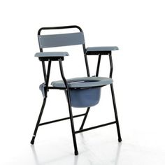 Easy to fold down and store the Stowaway Commode is available at CareCo from £34.99.