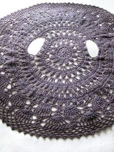 Crochet Flower Circle Cardigan Jacket