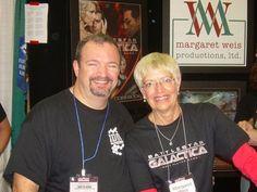 "Margaret Weis & Tracy Hickman ""Dragonlance"""
