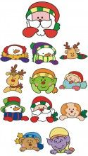 Christmas Special Embroidery Designs free american .pes machine embroidery design