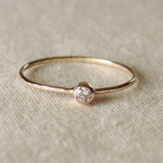 White sapphire bangle bracelet
