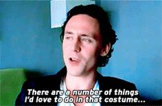 there are a number of things i'd love to do in that costume...