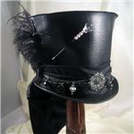 Steampunk Hats, Steampunk Top Hats, and Steampunk Riding Hats by Medieval Collectibles