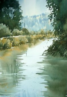 Watercolour Demonstration. Joanne Boon Thomas