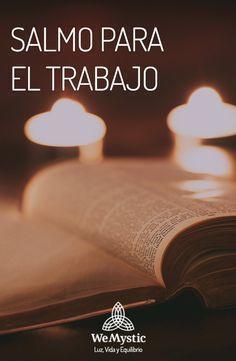 El trabajo Bible Quotes, Bible Verses, Clara Berry, Spanish Prayers, Yoga Mantras, Catholic Prayers, God Prayer, Prayer Board, Gods Love