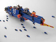 Scor Strike Cruiser by Pierre E Fieschi, via Flickr