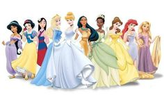 all of the princesses
