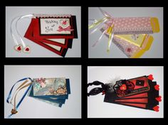 Recycle those cardboard inserts from paper towels & toilet paper rolls to make mini scrapbooks out of them :)