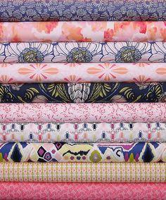 Luxe in Bloom Half Yard Bundle - Quartz Palatte - Sarah Watson for Art Gallery Fabrics - 10 Half Yards