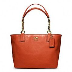 Coach's Madison Leather tote. This color is the MUST HAVE for Fall!!!!