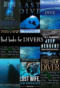 Best Books for Divers.  Books on Scuba Diving