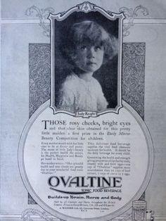 VINTAGE-ORIGINAL-1920s-PRINT-AD-9-OVALTINE-FOOD-TONIC-BEVERAGE