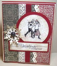 CCC11 Christmas Heart by Julie Gearinger - Cards and Paper Crafts at Splitcoaststampers