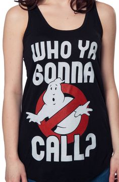 Ghostbusters Tank Top: 80s Movies Ghostbusters Tank Tops