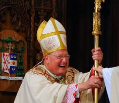 The Greatest of These is Joy: A whole tumblr of Cardinal Dolan laughing. :-)