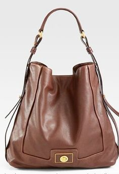 Marc By Marc Jacobs 'Revolution' Hobo Root Beer - http://bags.bloggor.org/marc-by-marc-jacobs-revolution-hobo-root-beer/