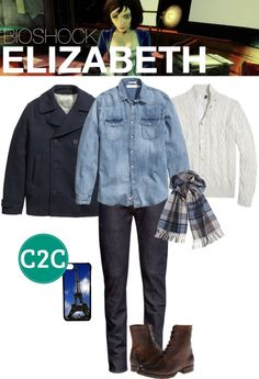 Gender-bent Elizabeth (Bioshock Infinite) Inspired Outfit - Console to Closet