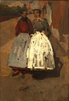 George Hendrik Breitner (1857-1923) Dutch Painter ~Repinned via Antonie van Gelder http://nl.wikipedia.org/wiki/George_Hendrik_Breitner