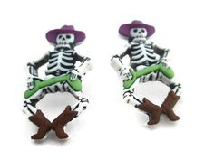 Women's Fall Earrings Ladies Halloween Earrings by MarysRemedies, $12.00