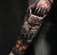 Viking Tattoo Sleeve, Wolf Tattoo Sleeve, Viking Tattoos, Sleeve Tattoos, Wolf Pack Tattoo, Wolf Tattoo Forearm, Arm Band Tattoo, Badass Tattoos, Body Art Tattoos