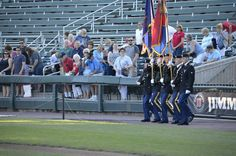 28th Infantry Division Honor Guard presenting at the Honor to Our Veterans with the Harrisburg Symphony Orchestra. July 5, 2015