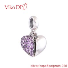 Find More Pendants Information about Ireland Christmas Gifts Pink Cubic Zircon Heart Pendant Fit Half Heart Necklace For Couples Diy Viko Jewelry S050,High Quality necklace enamel,China necklace rose Suppliers, Cheap necklace platinum from DIY Viko Jewelry on Aliexpress.com