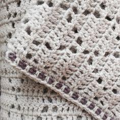 Vivre au crochet: Harlequin - couverture pour bébé