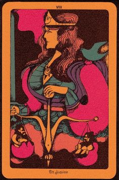 THE GROOVIEST TAROT DECK EVER: THE LINWEAVE TAROT, 1967